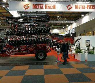 Metal Fach prezentuje się na największych targach  rolniczych w Europie - Agritechnica w Hannoverze
