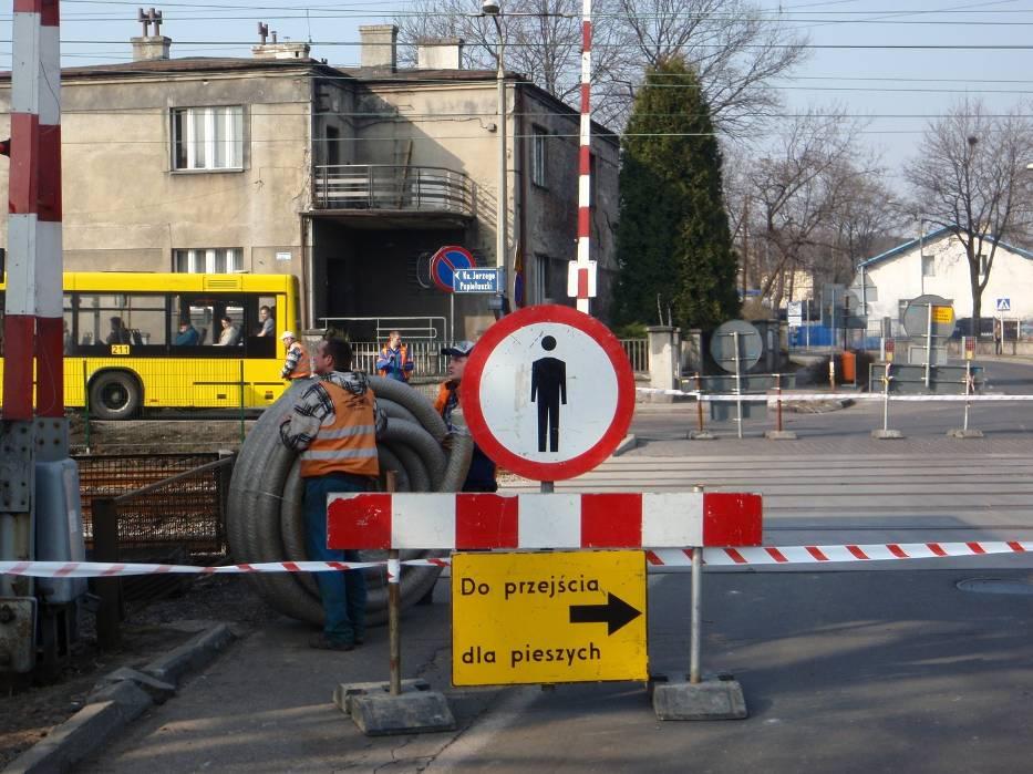 Katowice Kolej Zamknęła Przejazd W Dąbrówce Małej Naszemiastopl