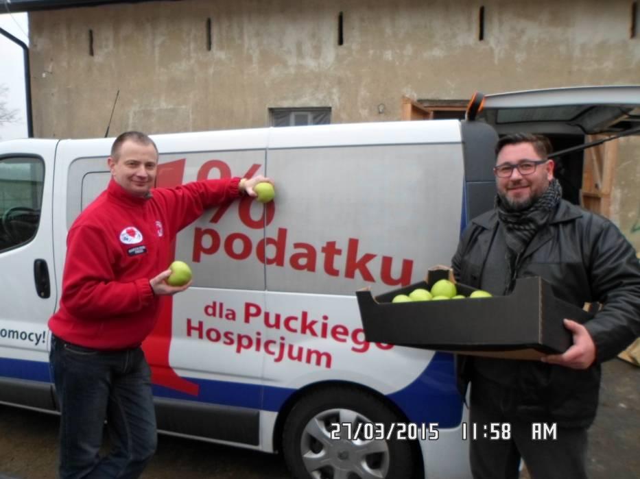 Rozdali jabłka w Połchowie