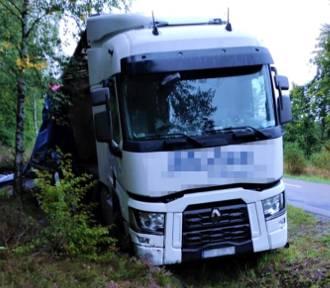 W gminie Kołczygłowy kierował ciężarówką a miał dwa promile
