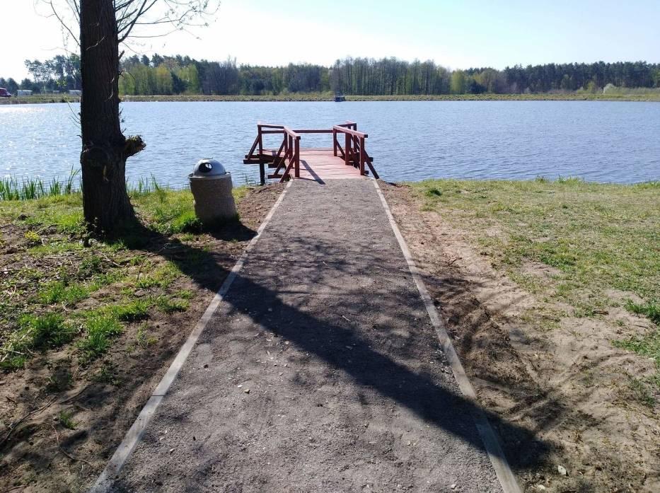 Zmiany nad zalewem w gminie Świdnica