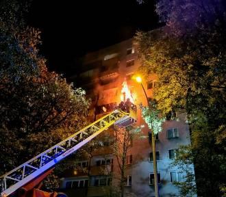 Pożar mieszkania na krakowskiej Woli Duchackiej. Zginął lokator