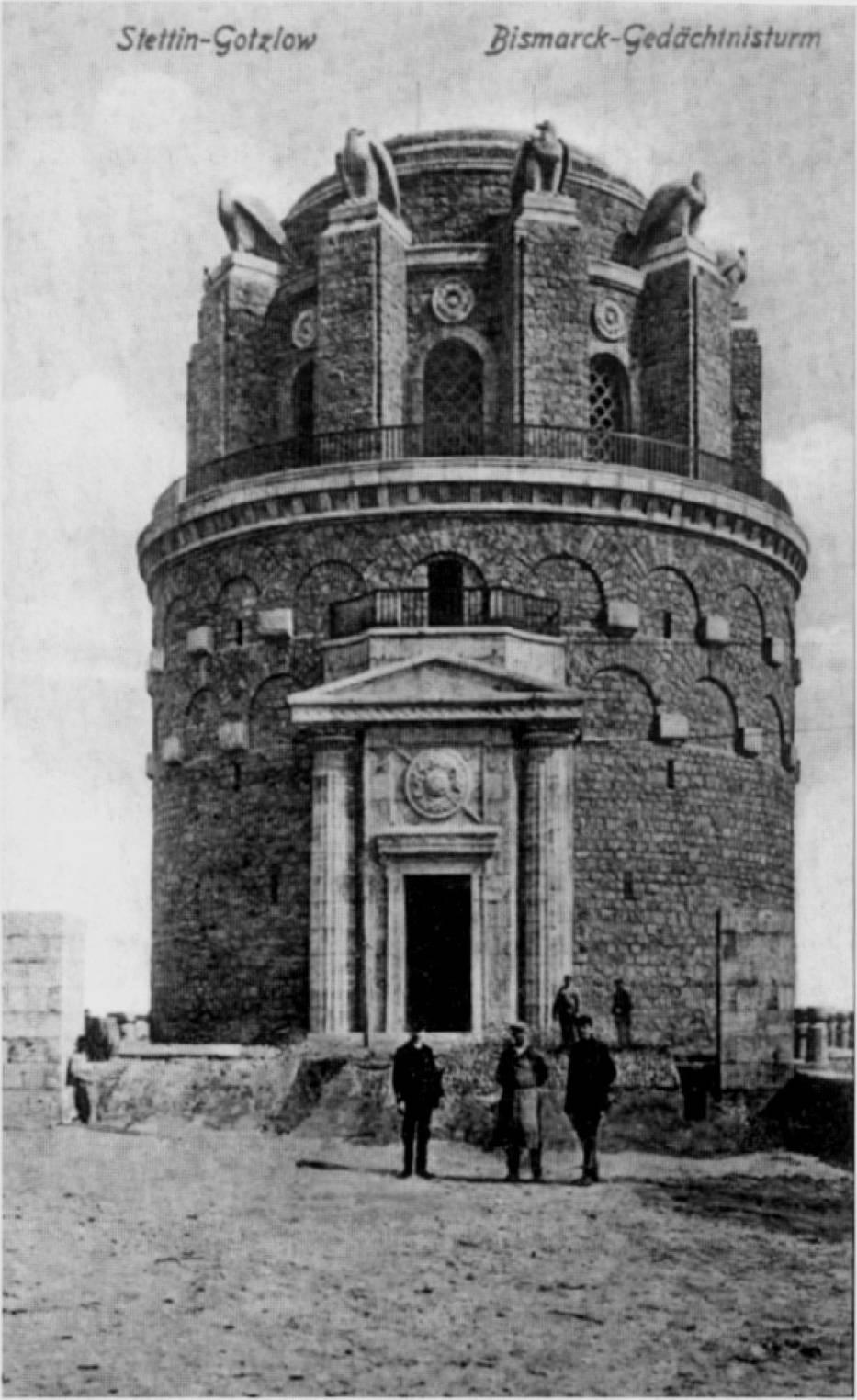Wieża Bismarcka wybudowana w 1912 roku