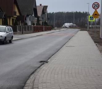 SULMIERZYCE: Ulica Jana Pawła II gotowa. Czas na ul. Myśliwską!