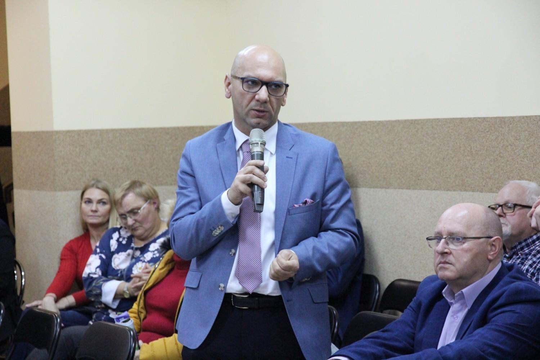Spotkanie władz z mieszkańcami Szymborza [zdjęcia]