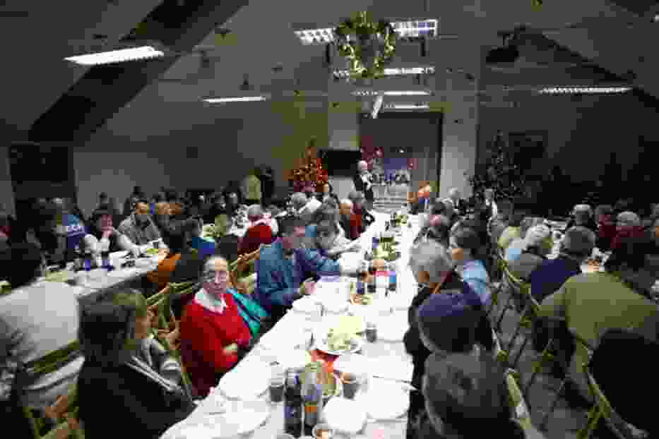 Wigilia w Poznaniu: 500 osób zasiadło do kolacji w Barce