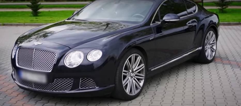 Bentley Sławomira Peszki