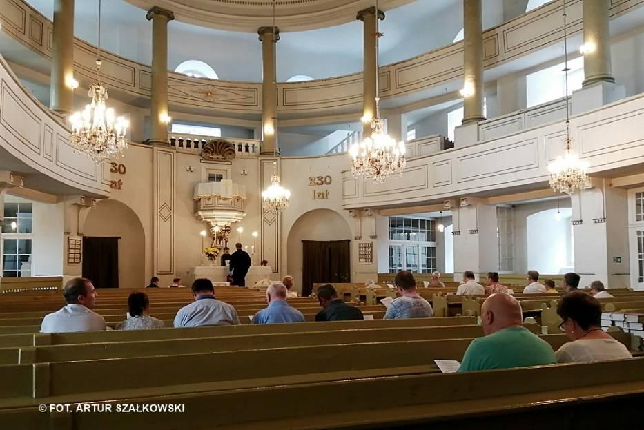 W poniedziałek (10 czerwca) w drugi dzień Świąt Zesłania Ducha Świętego, w kościele Zbawiciela w Wałbrzychu zostało odprawione nabożeństwo ekumeniczne