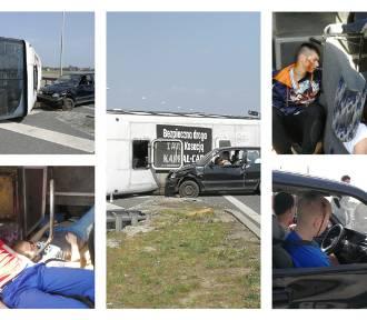 Wypadek autokaru na autostradzie A1. Kilkadziesiąt osób rannych - to scenariusz ćwiczeń służb