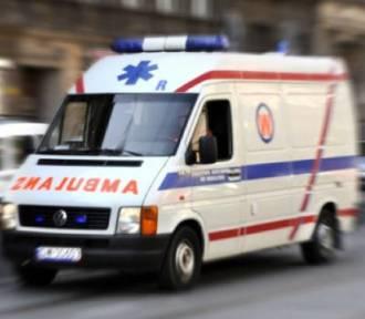 Wypadek na rondzie Budowniczych Huty Katowice w Dąbrowie Górniczej. Ranny 8-latek trafił do szpitala