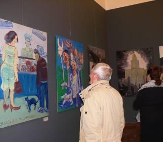 Poruszająca wystawa dzieł  Dwurnika w Muzeum Okręgowym w Sandomierzu