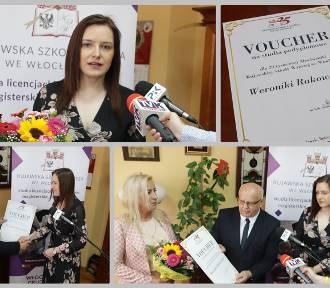 Kujawską Szkołę Wyższą we Włocławku ukończyła 20. tysięczna absolwentka [zdjęcia]