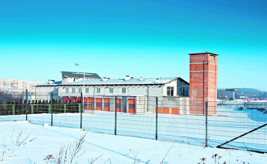 Strażnica w wałbrzyskiej dzielnicy Podzamcze budowana jest już od 2003 roku
