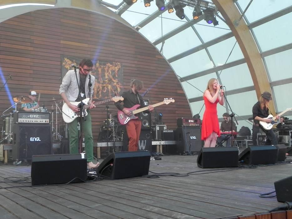 Białoruski zespół Landau zdobył główną nagrodę ostrowieckiego festiwalu w 2014 roku