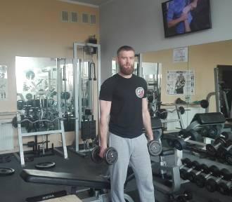 Trener Alan Urbaniak radzi pleszewianom, jak zdrowo się odżywiać