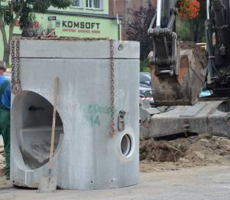 Sławno: Sprawdzamy postępy prac na ulicy Kopernika i części Matejki [ZDJĘCIA]