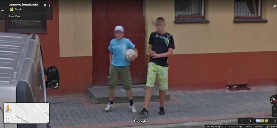 Mamy Cię po raz trzeci! Upolowani przez pojazd z logo Google na ulicach Jędrzejowa. Zobacz kolejne zdjęcia (GALERIA - CZĘŚĆ 3)