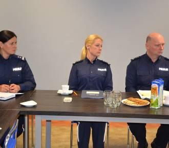 Pruszcz Gdański: Mniej kradzieży, ale więcej wypadków drogowych. Policjanci podsumowali rok