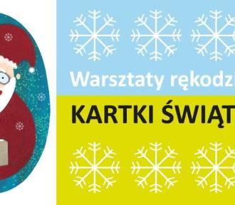 Jak samemu zrobić kartki świąteczne. Warsztaty we Wrocławiu