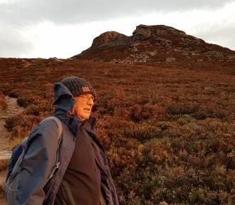 Roman Ćwiękała zdobywa szkockie góry. To teraz jego największa pasja