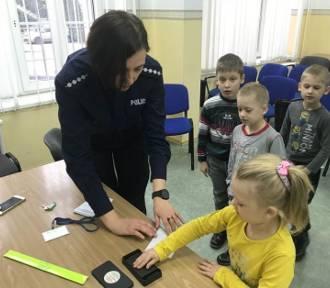 Policjanci spotkali się z uczniami Szkoły Podstawowej w Barlewiczkach [ZDJĘCIA]