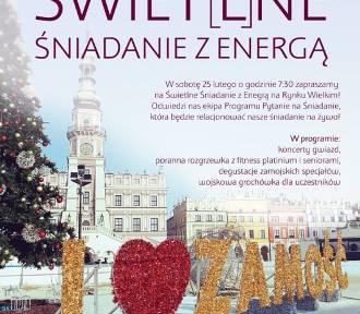 ZAMOŚĆ ŚWIETLNĄ STOLICĄ POLSKI!!! Zobacz jaką imprezę na Rynku Wielkim przygotowano z tej okazji!