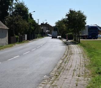 Nowy chodnik w Nacławiu, budowa zacznie się lada moment [ZDJĘCIA]