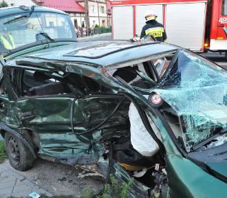Tragiczny wypadek w Racocie i groźny wypadek na DK5 [FOTO]