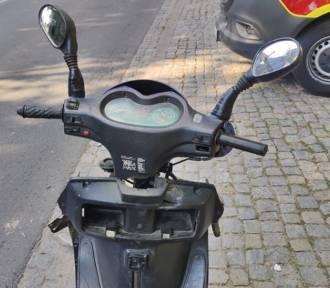 Wypadek w Szczawnie - Zdroju. Kobieta nie zauważyła motorowerzysty i wjechała w niego