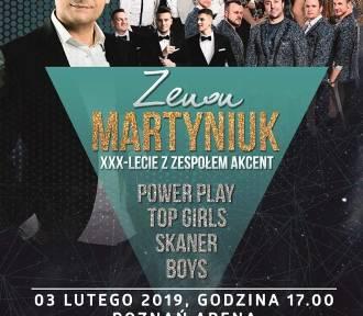 Zapraszamy na koncert Zenka Martyniuka z okazji 30-lecia zespołu Akcent