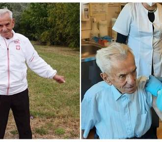 111-letni Stanisław Kowalski zaszczepiony. To najstarszy mężczyna w Polsce (ZDJĘCIA)