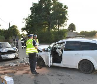 Pijany kierowca sprawcą wypadku w pow. wieruszowskim
