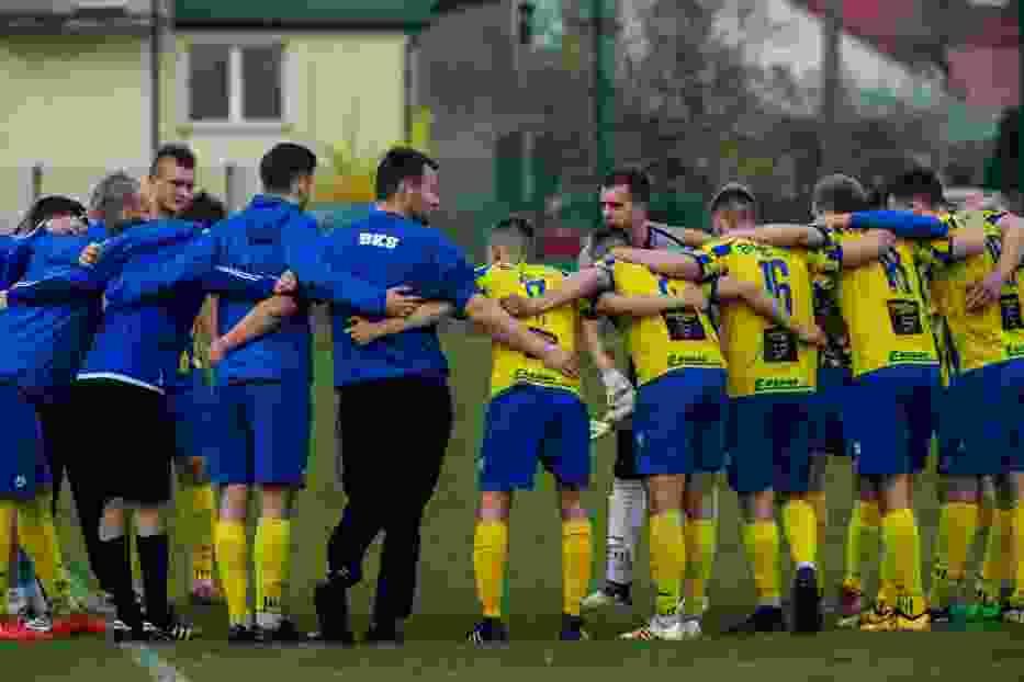 Mecz ćwierćfinałowy Regionalnego Pucharu Polski KS Michałowo - Tur Bielsk Podlaski 0:1