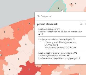 Zakażenie COVID-19 w p. sławieńskim. Sporo przypadków w regionie - 18.09.2021