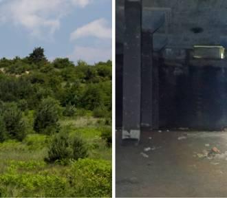 Tajemnicze betonowe hale w środku góry, w woj. śląskim! Do czego służyły?