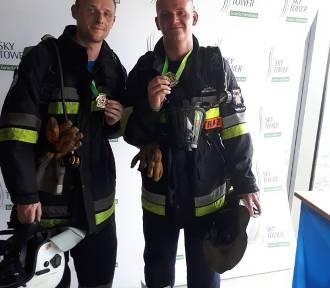 Nasi strażacy w Mistrzostwach Polski Sky Tower Run