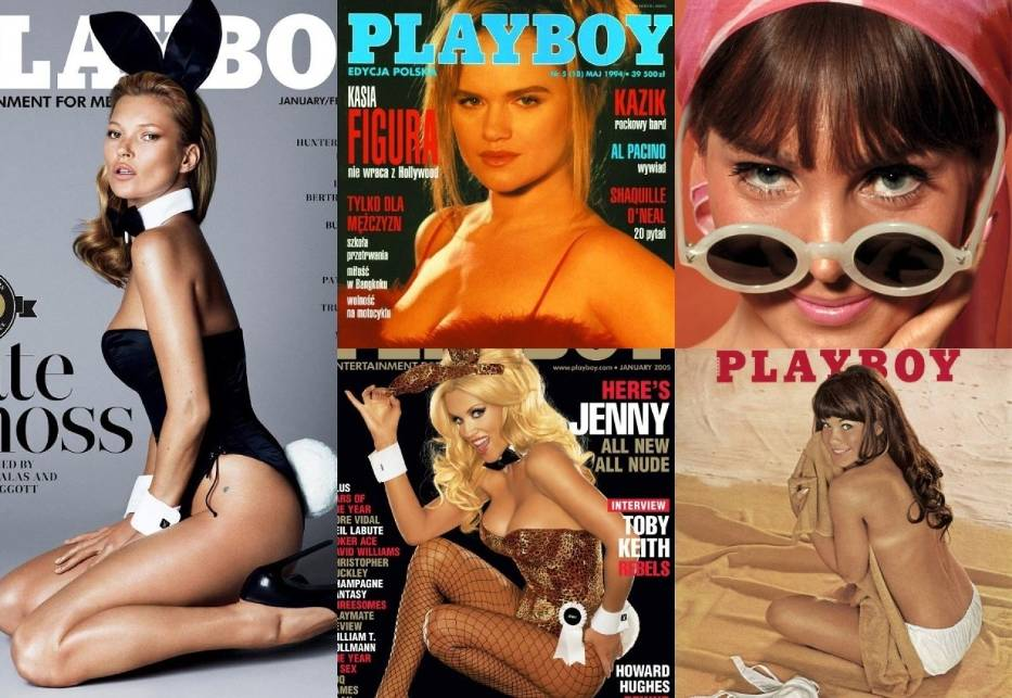 Najsłynniejsze okładki Playboya. Wspominamy kultowe okładki znanego męskiego czasopisma na przestrzeni lat [ZDJĘCIA 18+]