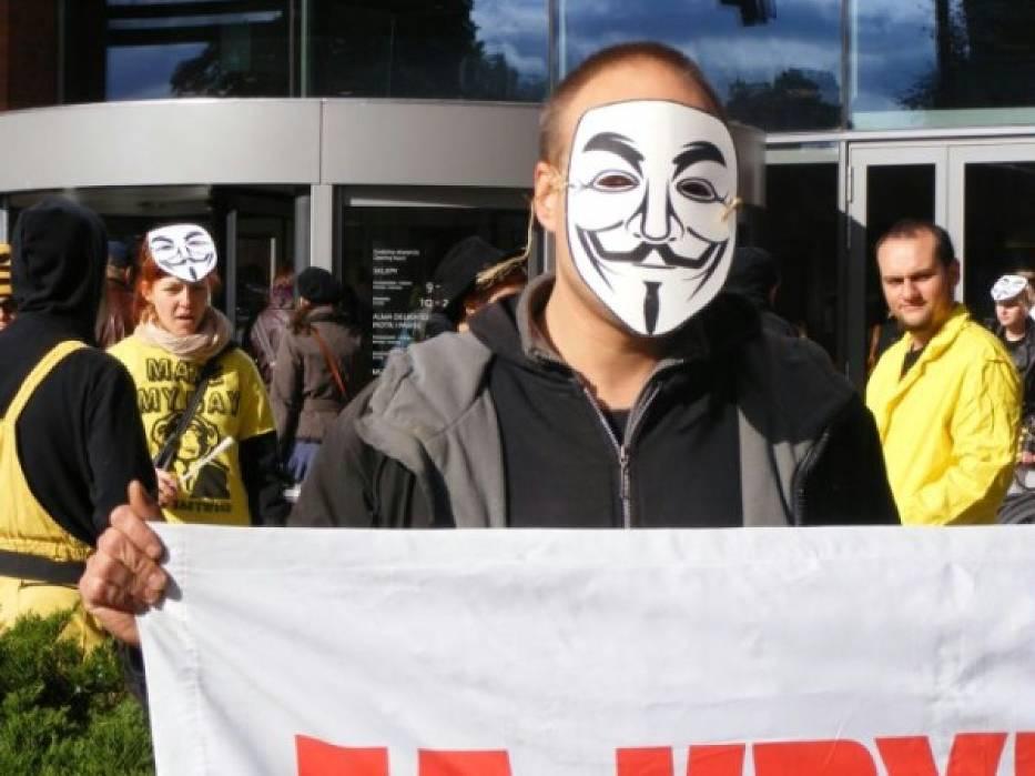Przecwko ACTA będą protestować m.in. anarchiści