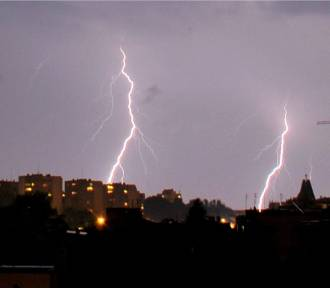 Przeszła kolejna burza nad Małopolską zachodnią