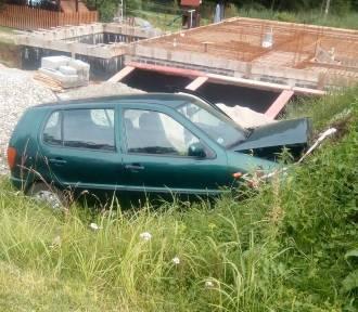 Wypadek w Gogołowej. Nie żyje 63-letnia kobieta