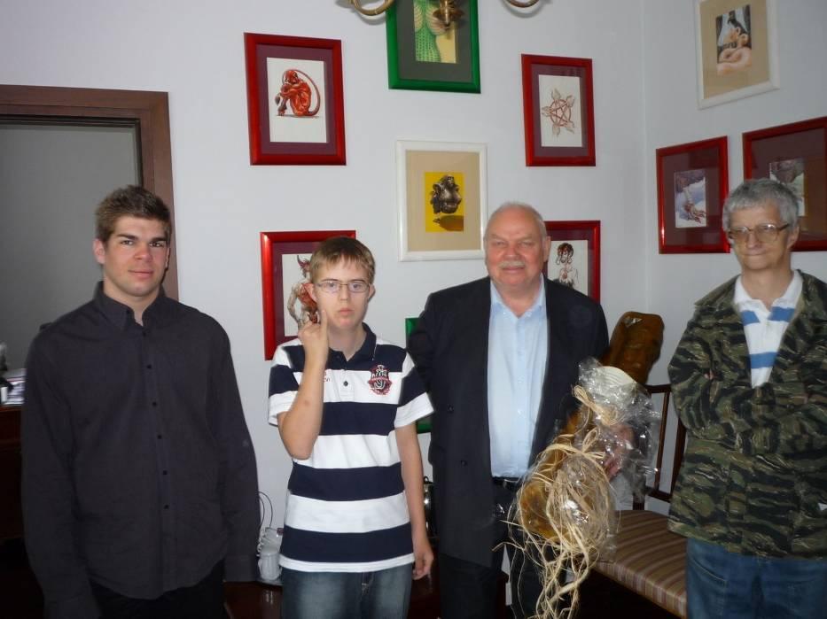 Z wizytą u dyrektora naczelnego teatru Rampa w Warszawie Witolda Olejarza