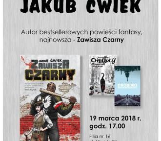 Jakub Ćwiek w Katowicach. Spotkanie z autorem odbędzie się w Bogucicach