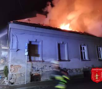 Brzesko. Pożar domu przy ulicy Kościuszki [ZDJĘCIA]
