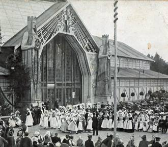 W 1905 roku tak wyglądał skwer ks. J. Popiełuszki w Zgorzelcu. Dacie wiarę?