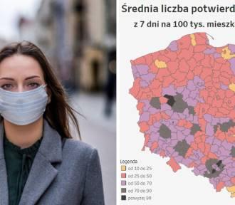 COVID-19 w woj. śląskim. Tam sytuacja jest najgorsza!