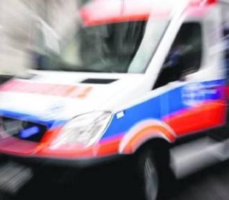 Potrącenie pieszego na ul. Witkiewicza