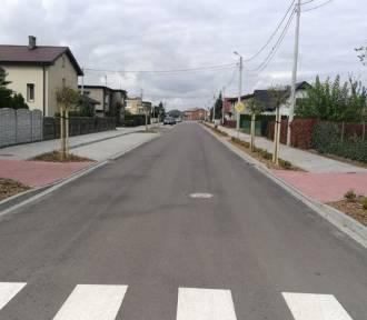 Zakończyła się przebudowa ulic Kasztanowej, Pawłowskiego i Wiśniowej