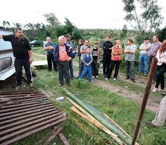 W 2012 roku Starą Rzekę w gm. Osie niemalże zmiotła nawałnica. Zdjęcia