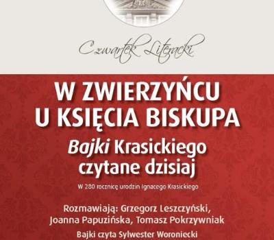 Czwartek Literacki W Zwierzyńcu U Księcia Biskupa Bajki