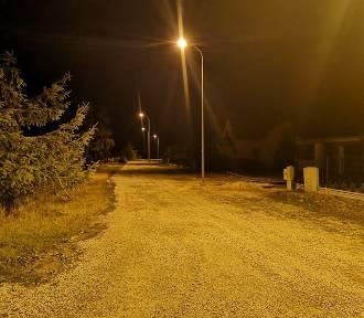 Gmina Dobroszyce z nowym oświetleniem ulicznym